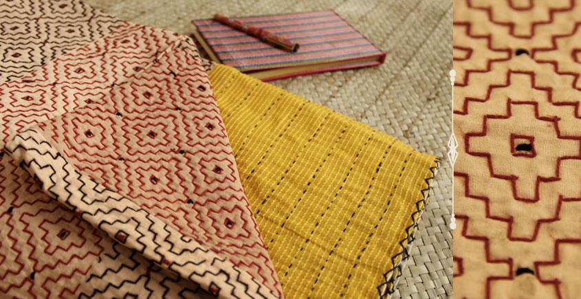 Dhadki ⚏ Kutchi Quilt ⚏ Bedspread . B
