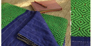 Dhadki ⚏ Kutchi Quilt ⚏ Bedspread . E