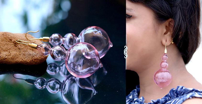Flora ⚹ Glass Jewellery ⚹ Gumbaz ( Earring ) ~ 9