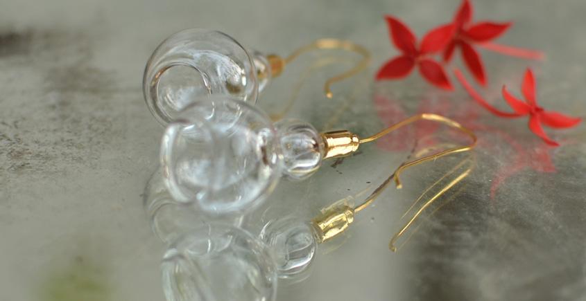 Bihag . Glass Jewellery ☼  Geometric Play ( Earring ) ~ 30