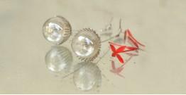 Bihag . Glass Jewellery ☼ Dandelion And Dew Drop Earring ~ 21