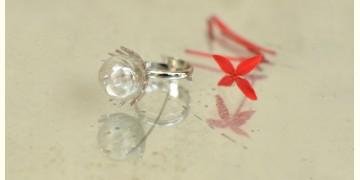 Bihag . Glass Jewellery ☼ Dandelion And Dew Drop Ring ~ 23