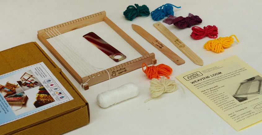 Active Hands Weaving Loom
