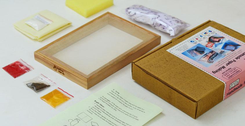 Active Hands ~  Handmade paper making