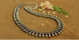 Khwab ✽ Antique Finish White Metal ✽ Necklace { 1 }