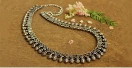 Khwab ✽ Antique Finish White Metal ✽ Necklace { 1 }
