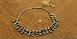 Khwab ✽ Antique Finish White Metal ✽ Necklace { 8 }