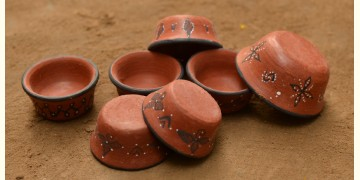 Terracotta Katories ~ 9 { set of 7 }