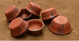 Terracotta Katories ~ 10 { set of 7 }