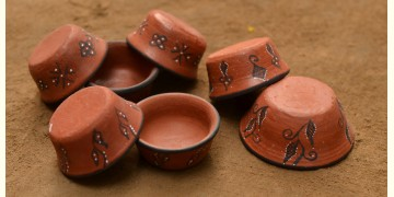 Terracotta Katories ~ 10 { set of 7 }