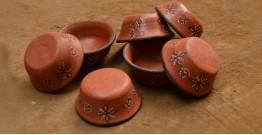 Terracotta Bowl ~ 11 { set of 7 }