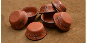 Terracotta Bowl ~ 11 { set of 7 }