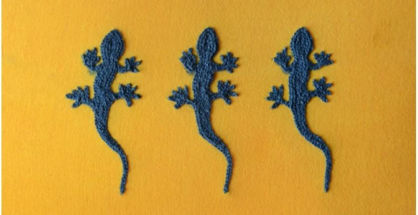 Laptop sleeves ~ Chipkali (Blue)