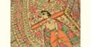 Dream Girl ❁ Tussar Silk . Madhubani Saree ❁ 10