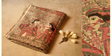 Dream Girl ❁ Tussar Silk . Madhubani Saree ❁ 3