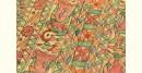 Dream Girl ❁ Tussar Silk . Madhubani Saree ❁ 8