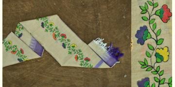 Urmika ❁ Cotton Silk . Madhubani Dupatta ❁ 1