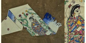 Urmika ❁ Cotton Silk . Madhubani Dupatta ❁ 2