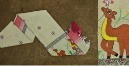 Urmika ❁ Cotton Silk . Madhubani Dupatta ❁ 8