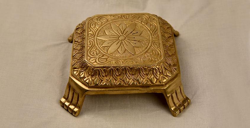अर्चना ❋ Brass . Carving Bajoth ❋ 1