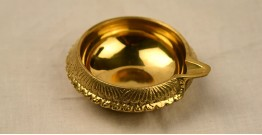 अर्चना ❋ Brass . Carving Diya ❋ 49 { Small }