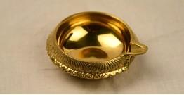 अर्चना ❋ Brass . Carving Diya ❋ 2 { Large }