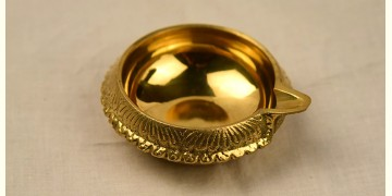 अर्चना ❋ Brass . Carving Diya ❋ 48 { Medium }