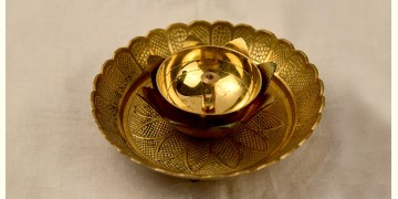 अर्चना ❋ Brass . Carving Diya ❋ 3