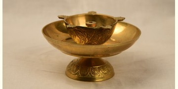 अर्चना ❋ Brass . Brass carving Diya ❋ 6
