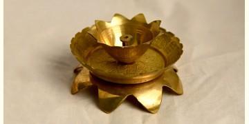 अर्चना ❋ Brass . Kamal diya Brass carving ❋ 15