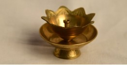 अर्चना ❋ Brass . Kamal diya carving ❋ 19