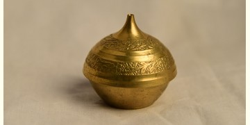 अर्चना ❋ Brass. Kumkum dibbi carving ❋ 24