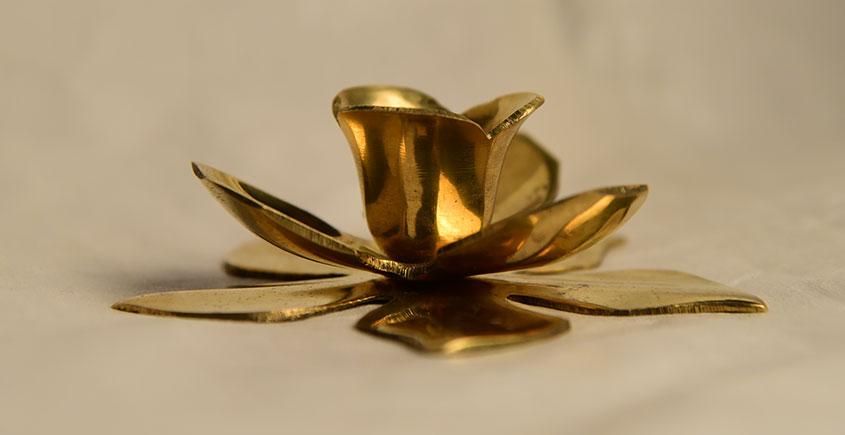 अर्चना ❋  Brass . Kamal Katori solid ❋ 33
