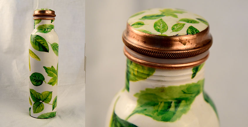 अर्चना ❋  Printed copper flask  ❋ 39 { 950ml }