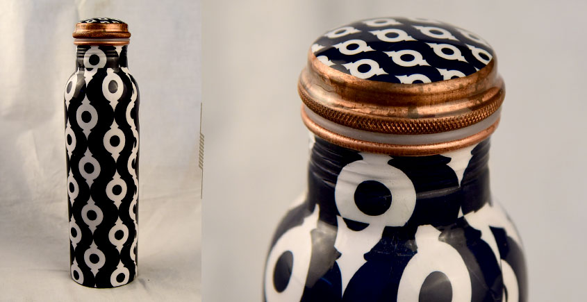 अर्चना ❋  Printed copper flask ❋ 40 { 950ml }