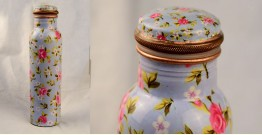 अर्चना ❋ Plain copper flask ❋ 41 { 950ml }