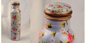 अर्चना ❋ Plain copper flask ❋ 41 { 950ml }