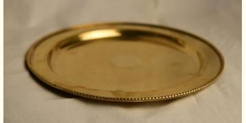 मनोहार ✥ Brass . Puja thali solid brass ✥ 20