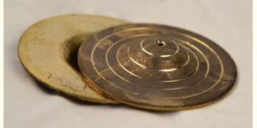 मनोहार ✥ Brass .  Manjira large ✥ 47