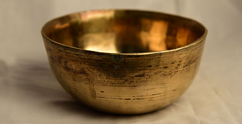 अर्चना ❋ Brass . Handmade Kansa multipurpose serving bowl (bell metal) ❋ 50