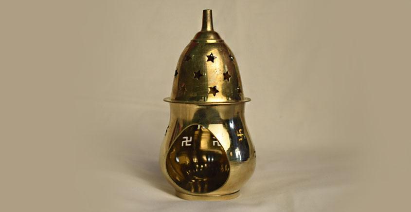 अर्चना ❋ Brass . Carving Diya ❋ 54