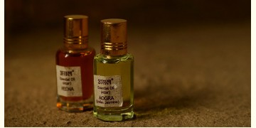 Attar (Natural Perfume) ~ Heena + Mogra