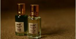 Attar (Natural Perfume) ~ Khus + Gulab