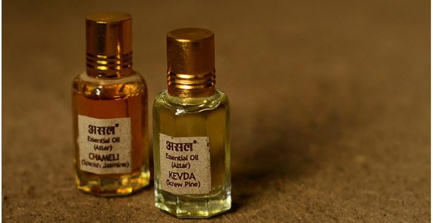 Attar (Natural Perfume) ~ Kevada + Chameli