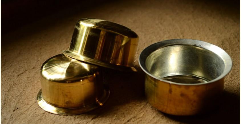 Teen Bhgoni (Set of three - Brass with Tin coating)
