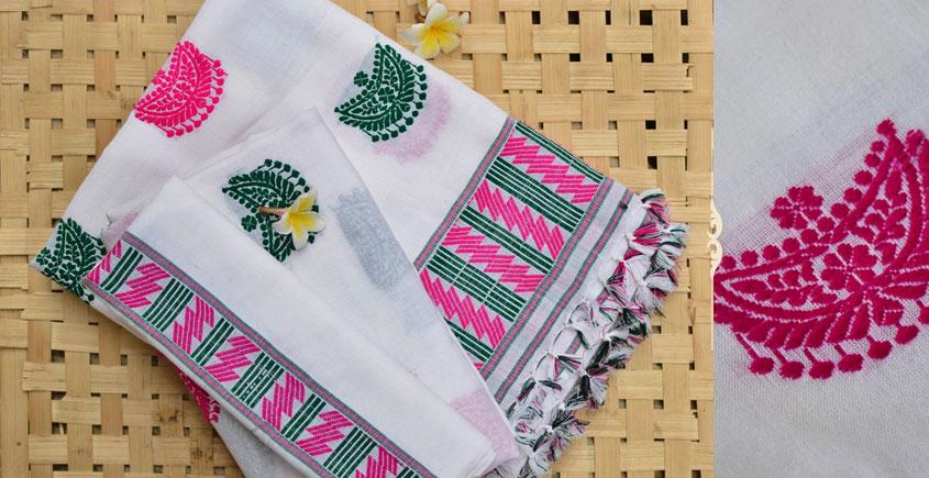 Assamese Handwoven ✽ Mekhela Sador ✽ A
