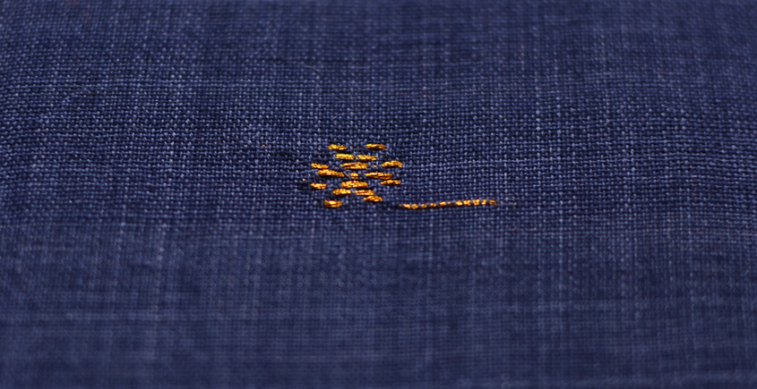 Handwoven Assamese Cotton Fabric ❂ A