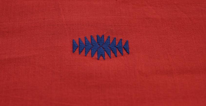 Handwoven Assamese Cotton Fabric ❂ F