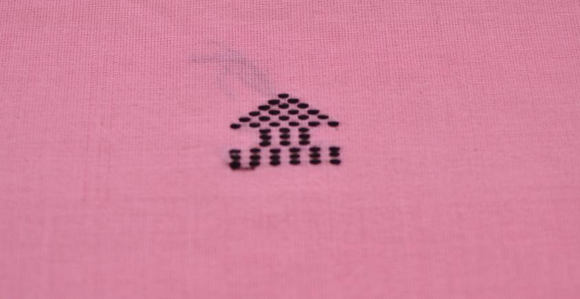 Handwoven Assamese Cotton Fabric ❂ J