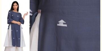 Vijul ❂ Handwoven . Cotton Dress ❂ D